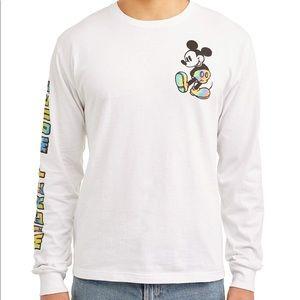 Disney Mickey Tie-Dye Rainbow Longsleeve